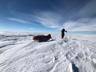 Astrid Furholt over Sydpolen